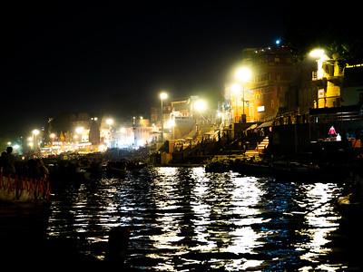 The Bright Lights of Varanasi