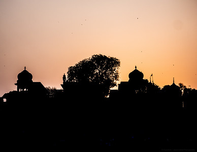 Ghat Silhouette