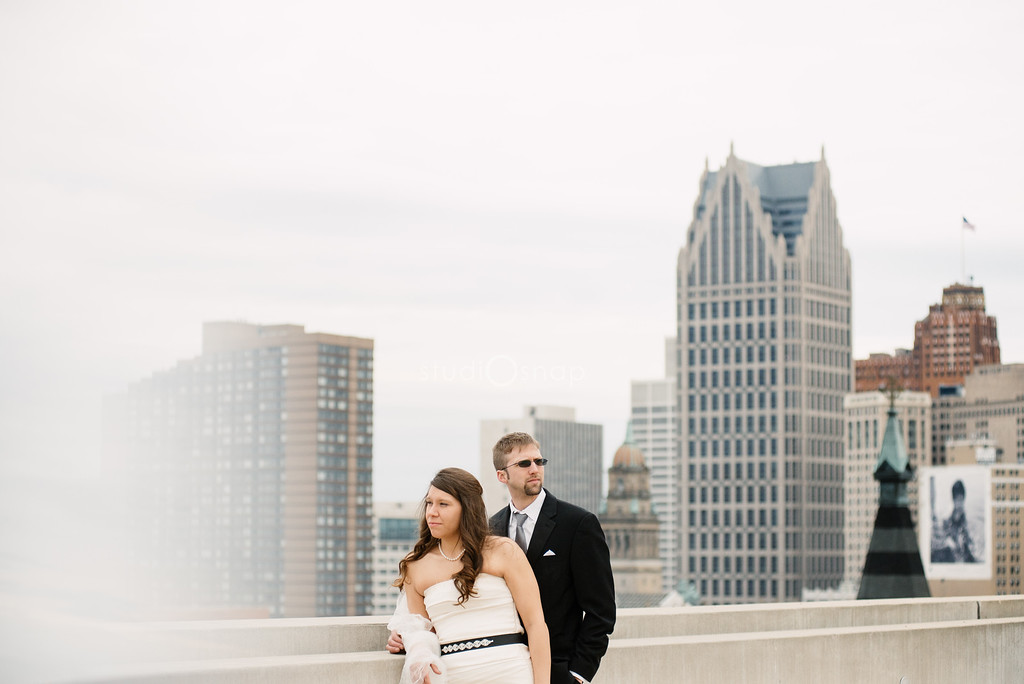 crystal + eric | trash the dress, greektown, detroit