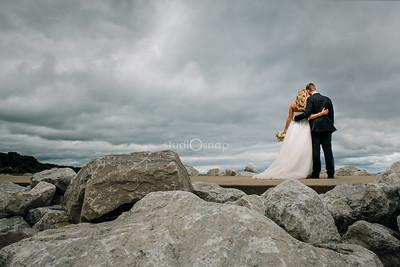 Shanahan's Barn Wedding Charlevoix Country Club Michigan Wedding Photographer