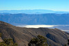 Frozen Badwater basin in a distance...