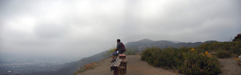 Resting at Tongva Peak