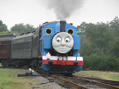 Day Out With Thomas NC Transportation Museum 092708