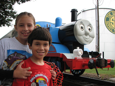 Day Out With Thomas NC Transportation Museum 092511