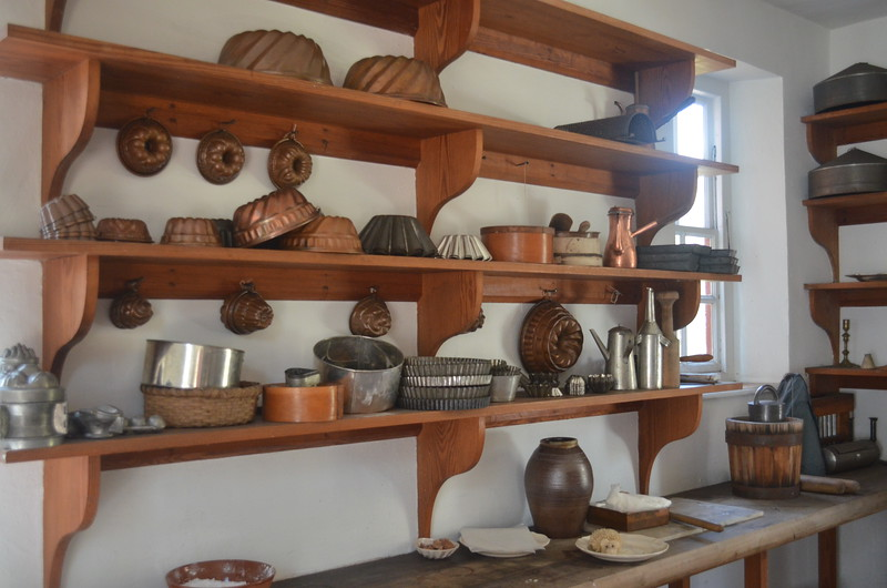 Governor's Palace Kitchen