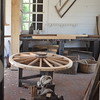 Wheel wright shop