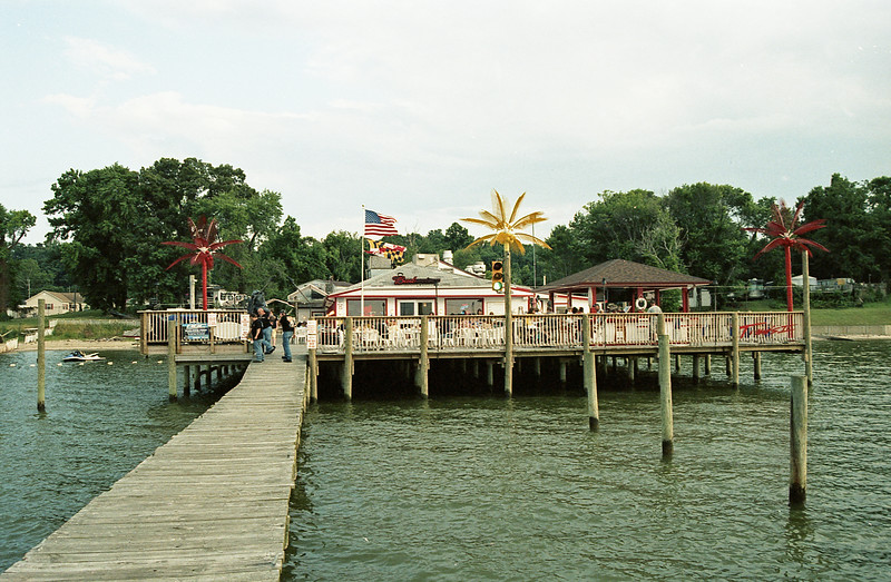 """Tims II Fairview Beach Virginia <a href=""""http://tims2.com/"""">http://tims2.com/</a><br /> Film: 35mm ASA 125 Svema (Russian) <a href=""""http://filmphotographyproject.com/store/35mm-color-svema-color-125-film-single-roll"""">http://filmphotographyproject.com/store/35mm-color-svema-color-125-film-single-roll</a><br /> Exposed: Not recorded<br /> Filter: None<br /> Camera: Nikon N80<br /> Developed: CVS <br /> Scanned Epson V600 Edited in Adobe Elements 10"""
