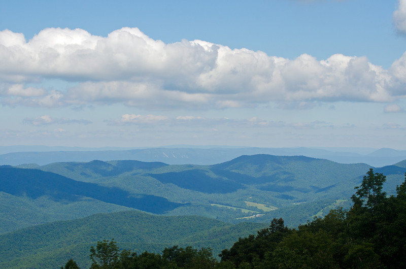view from Skyline Drive