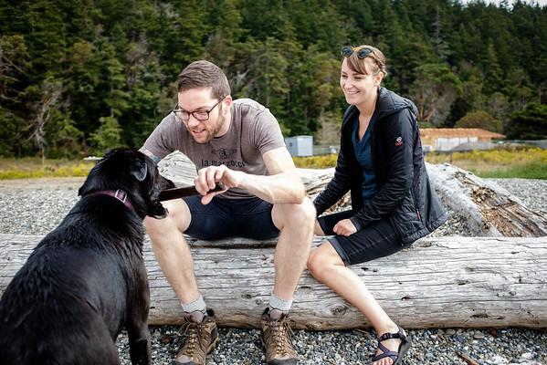 Sydni, Brian & Lettie   Camino Island, WA   September 2016