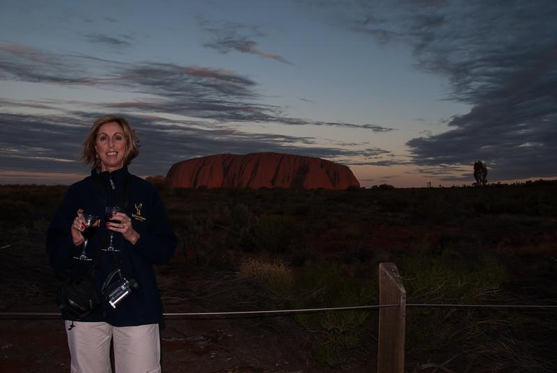 A Red at Ayers Rock (Uluru)