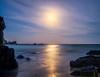 Moon at Billys Beach