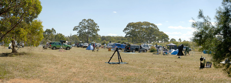 Main observing field at Wiruna
