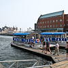 Fair City II, the water taxi that brought us from the Inner Harbor to Fells Point, is losing no time boarding passengers now that we have disembarked.