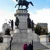 Richmond - Capitol Square<br /> The George Washington equestrian monument sits just west of the Capitol on Capitol Square.