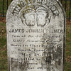 The names of only 2 of the 266 men buried at Groveton are known - this is the headstone for one of them.