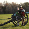 One of the Union guns on Matthew Hill.