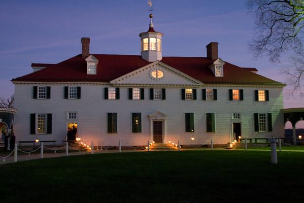 Mount Vernon<br> Candlelight Tour<br> (Nov 2007)