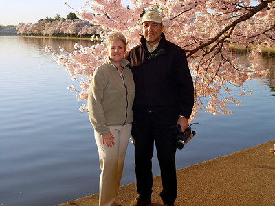 "A ""we were there"" photo op at the Tidal Basin."