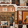 Mural of a Roman villa in the outer hall of the Pompeii Exhibit at the National Gallery of Art.<br /> (No photograpy allowed inside.)