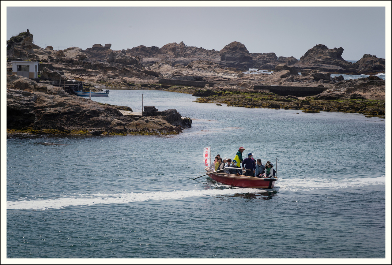 The ferry to the island costs $10 per person.  It is a distance of about 50 meters.