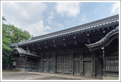 """""""Black Gate"""" This was part of the daimyo's residence in Tokyo."""
