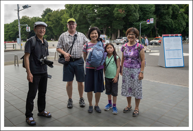 The Laycock family from Seattle and Taiwan