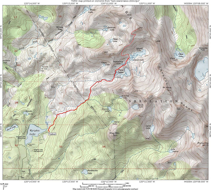 """Trip Map.  <i>To print map, select """"O"""" in other sizes below, to save file in original (highest) resolution. Right-click to save on your computer.</i>"""
