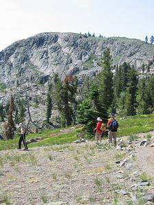 Descending Grouse Ridge