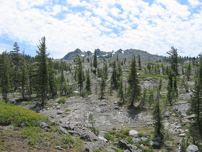 Black Buttes, peeking over the top