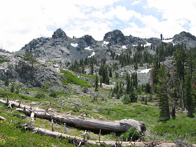 The Black Buttes are a small, but rugged range.