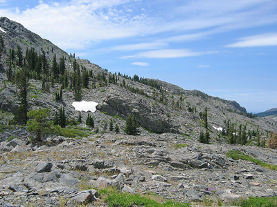 Rocky, rugged slopes