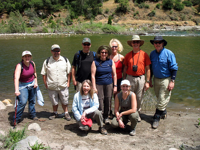 Most of our group. From left: Allison, Brian, Patrick, Jean, Susan, Bree, Karen, Rich, Frank. Heide took the photo (Thanks! :)