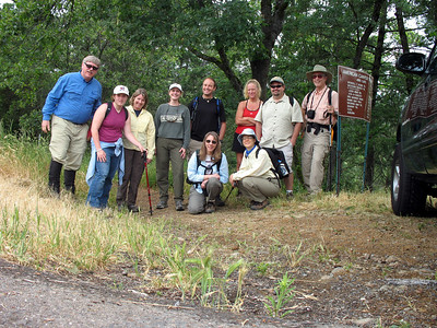 Our group for today. From left: Frank, Allison, Susan, Karen, Patrick, Jean, Heide, Bree, Brian, and Rich.