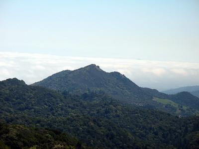 This cool looking peak is Little Bald Mt.
