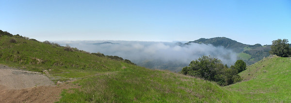 Southwestern panorama, from the saddle between Red Mt and Bald Mt