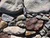 Rocks at Feely Lake Dam.