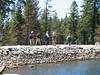 Back at Feely Lake Dam.