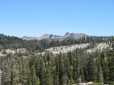 Black Butte. We hiked there from Grouse Ridge in 2004.