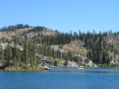 Island Lake, Grouse Ridge.