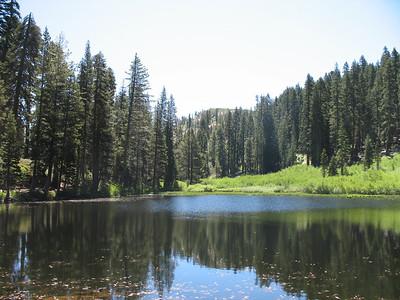 Unnamed lake between Feely Lake and Island Lake.