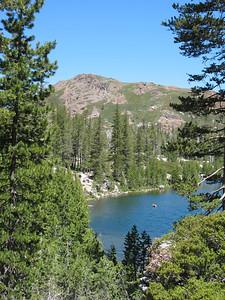 Island Lake, Fall Creek Mountain.