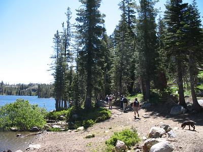 Starting around Feely Lake.