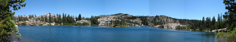 Island Lake Panorama.