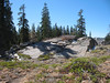 Granite outcrop.