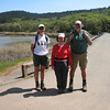 Cheryl, Barbara, Paul. They had to get on to other chores today, so they took a faster route back to their cars. Hope to hike with them again soon!!!