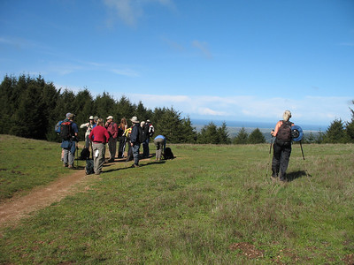 At the meadow near the Mount Wittenberg summit.
