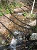 Flowing water.