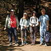 Our group for today. From left: Frank (yours truly), Jean, Bonnie, Pat.