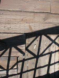 Deckwork on the Edwards, Crossing bridge.