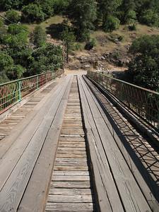 View across Edwards Crossing bridge.